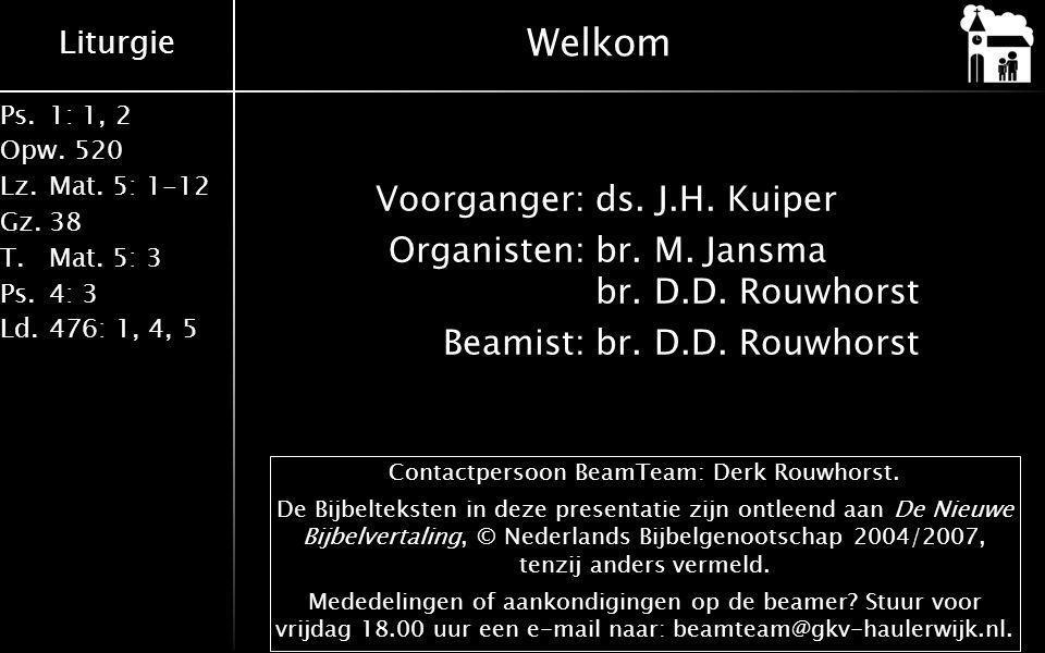 Contactpersoon BeamTeam: Derk Rouwhorst.