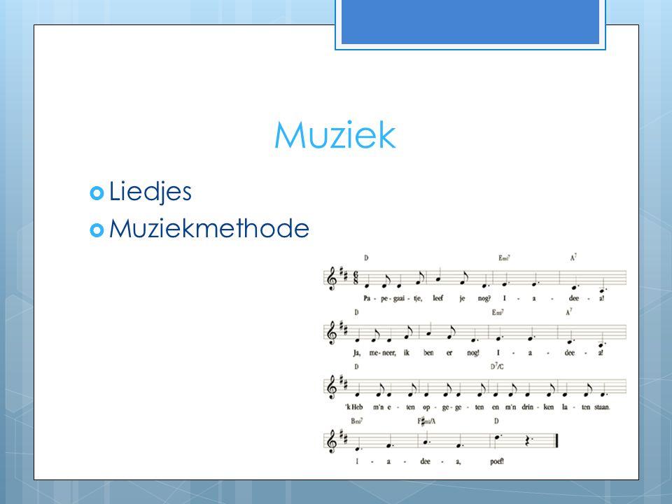 Muziek Liedjes Muziekmethode