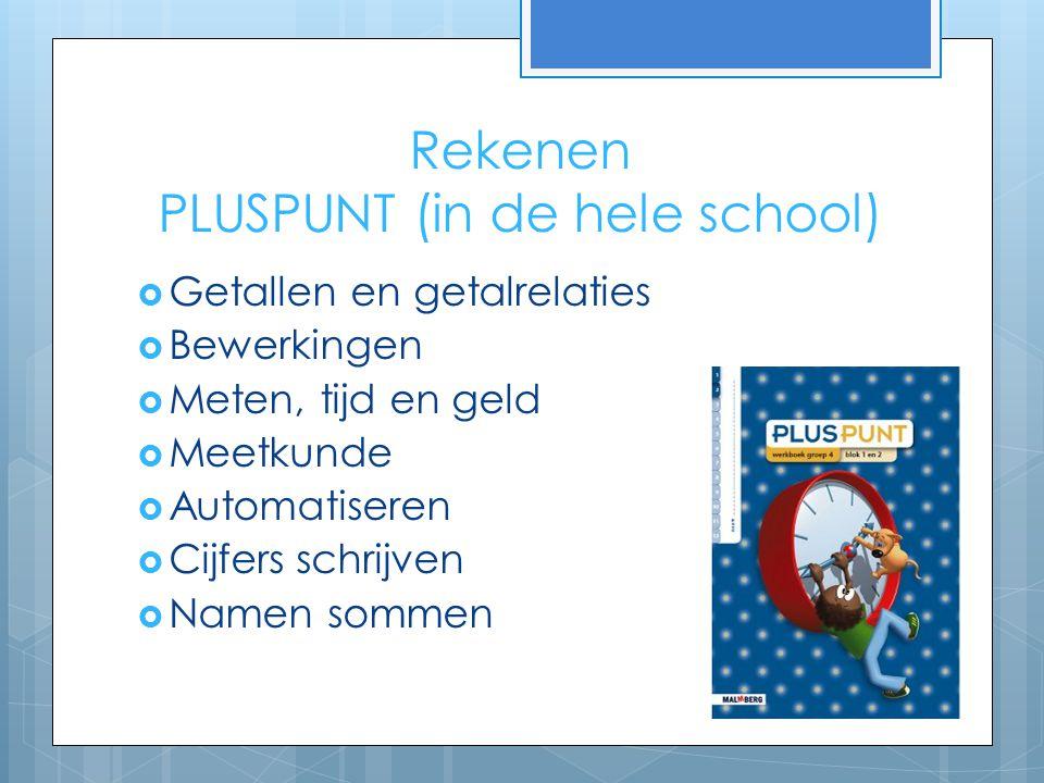 Rekenen PLUSPUNT (in de hele school)