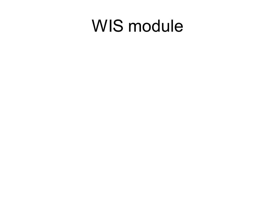 WIS module