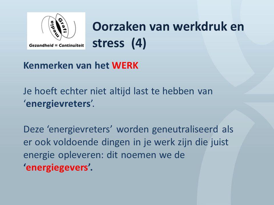 Oorzaken van werkdruk en stress (4)