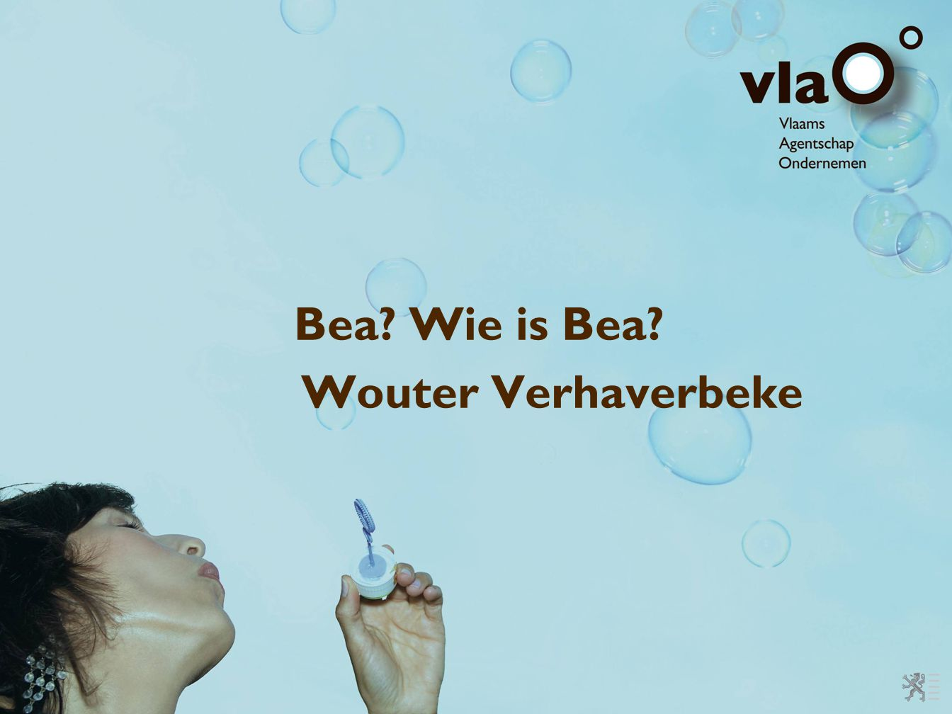 Bea Wie is Bea Wouter Verhaverbeke