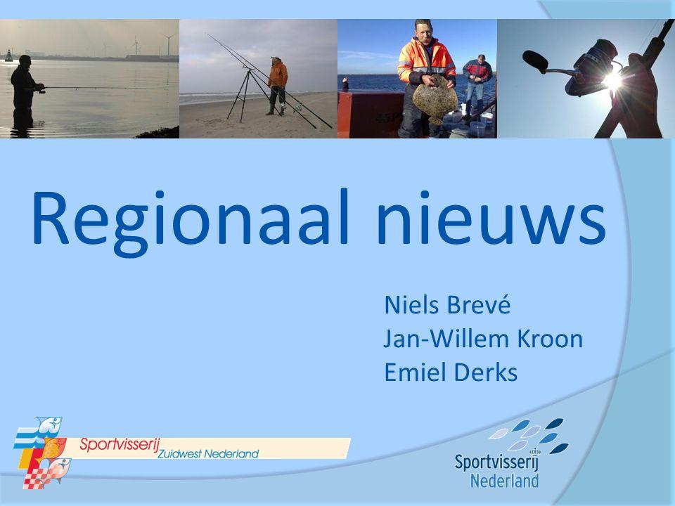 Regionaal nieuws Niels Brevé Jan-Willem Kroon Emiel Derks