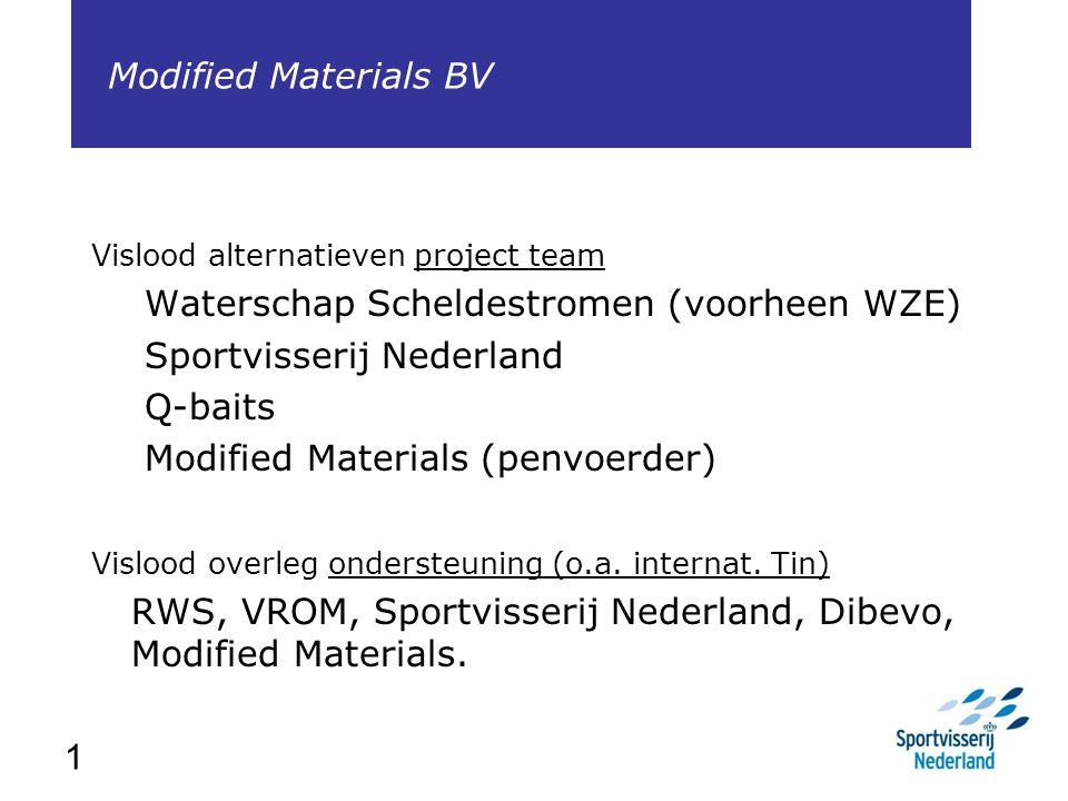 Waterschap Scheldestromen (voorheen WZE) Sportvisserij Nederland