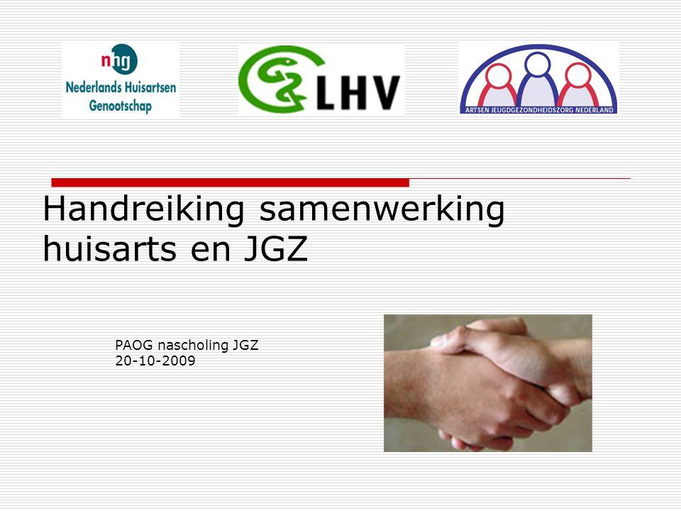Handreiking samenwerking huisarts en JGZ