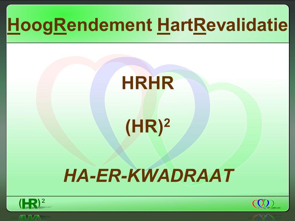 HoogRendement HartRevalidatie