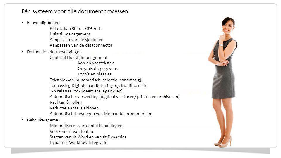 Eén systeem voor alle documentprocessen