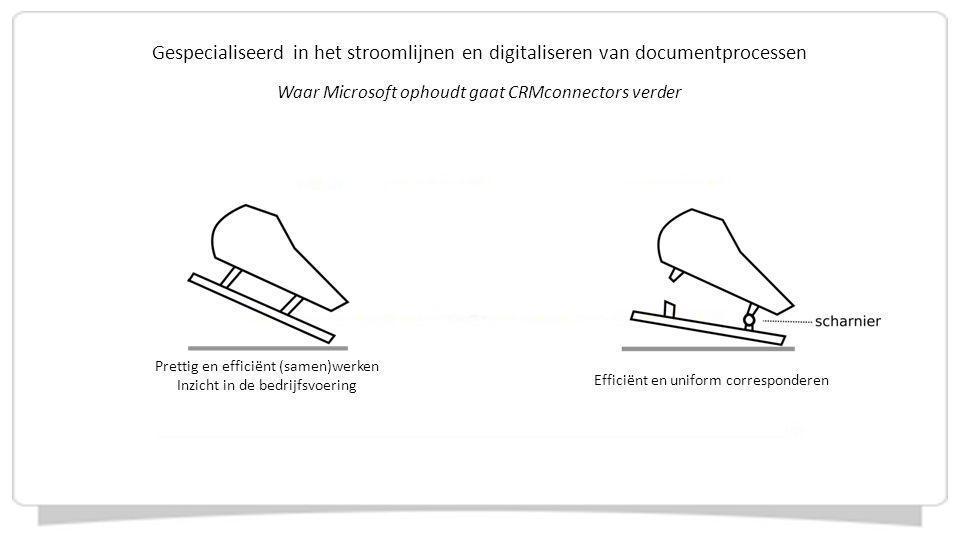Gespecialiseerd in het stroomlijnen en digitaliseren van documentprocessen