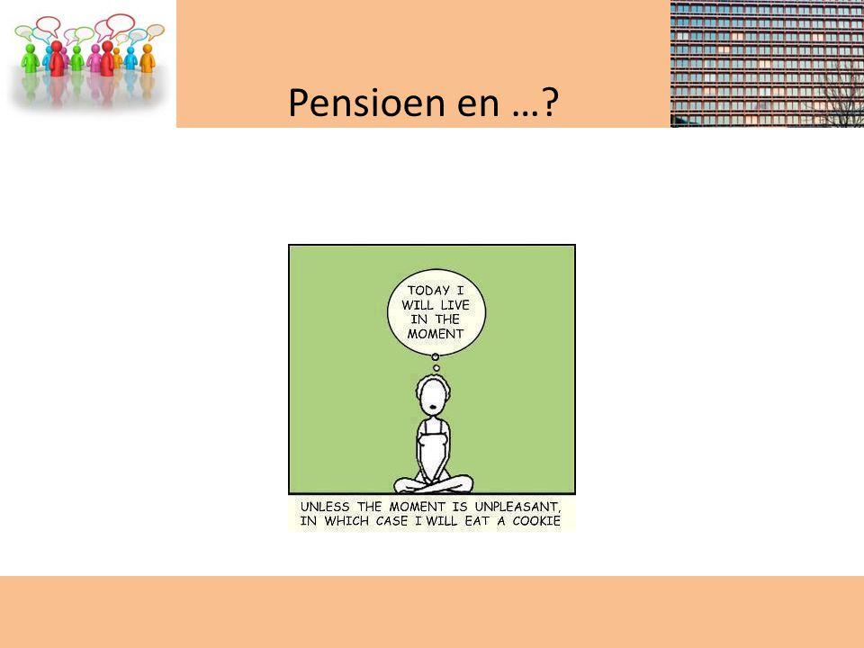 Pensioen en …