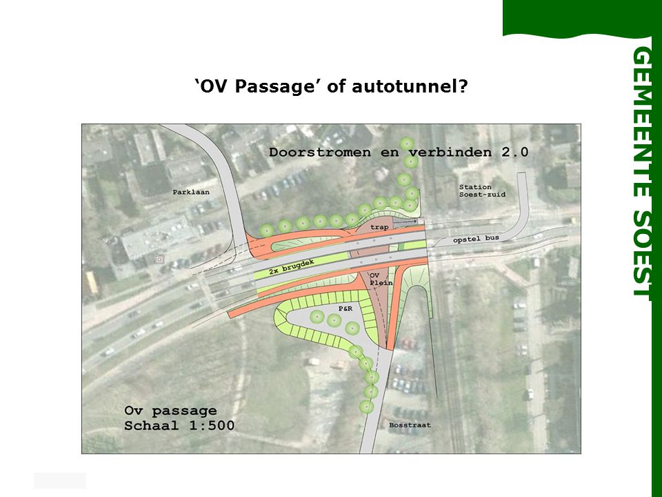 'OV Passage' of autotunnel