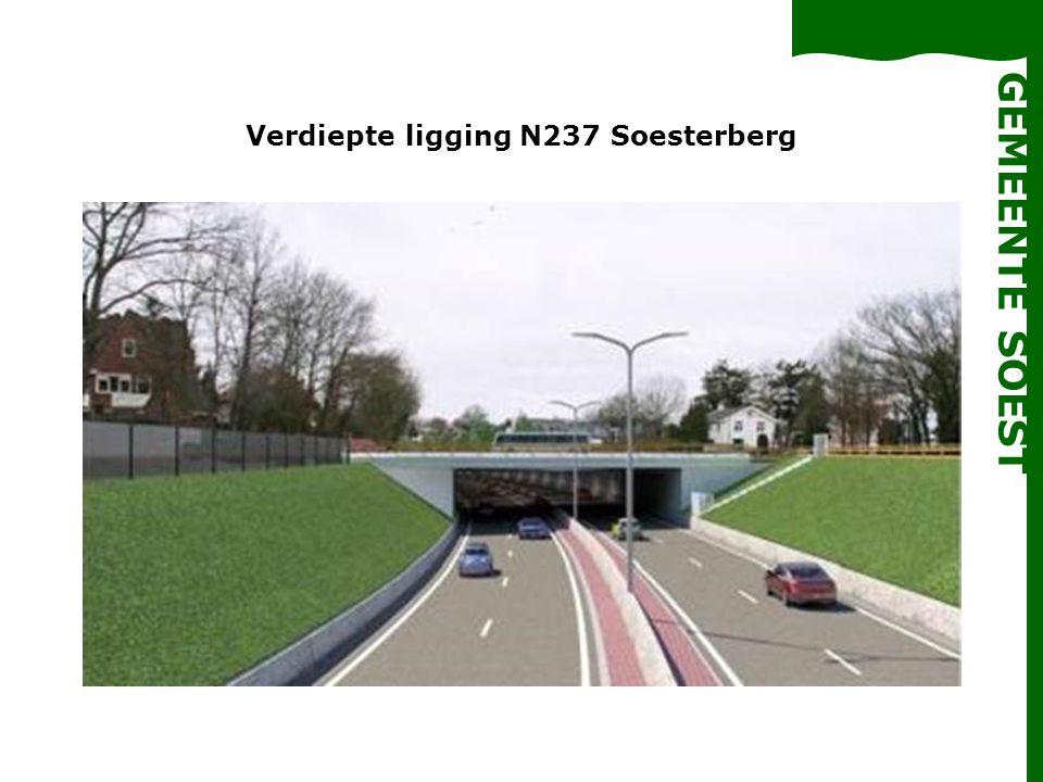 Verdiepte ligging N237 Soesterberg