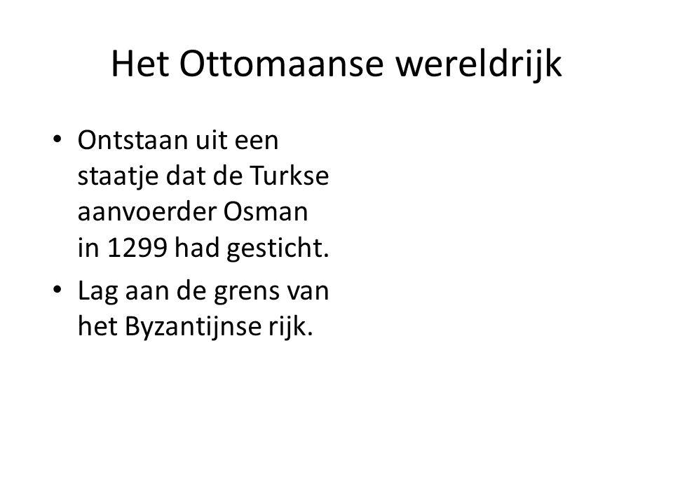 Het Ottomaanse wereldrijk