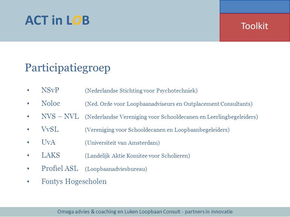 Participatiegroep NSvP (Nederlandse Stichting voor Psychotechniek)