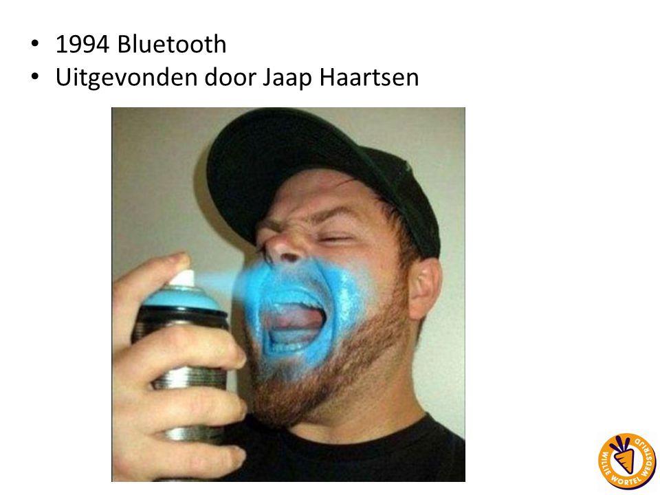 Uitgevonden door Jaap Haartsen