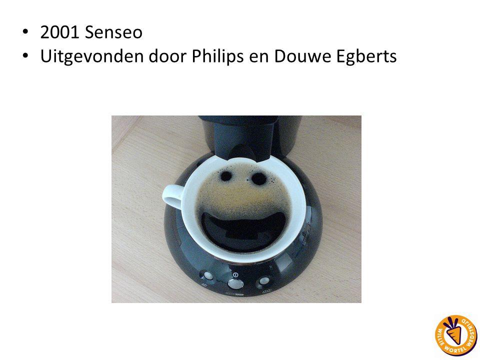 Uitgevonden door Philips en Douwe Egberts