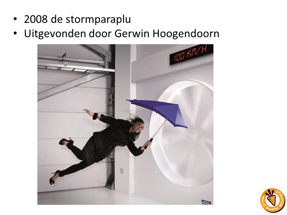 Uitgevonden door Gerwin Hoogendoorn