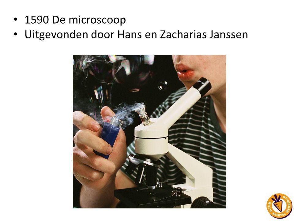 Uitgevonden door Hans en Zacharias Janssen
