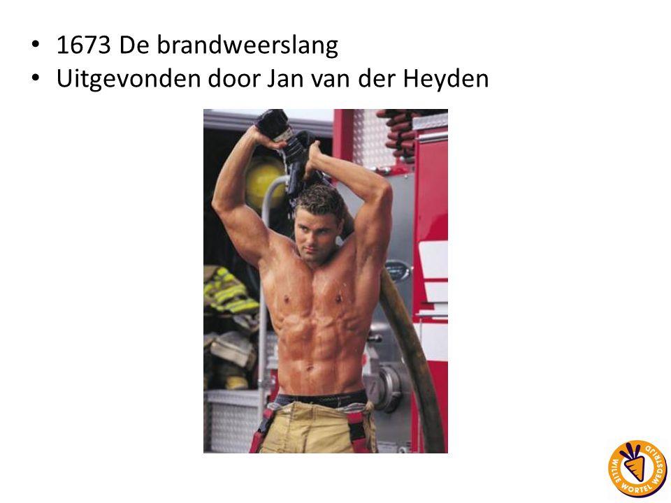Uitgevonden door Jan van der Heyden