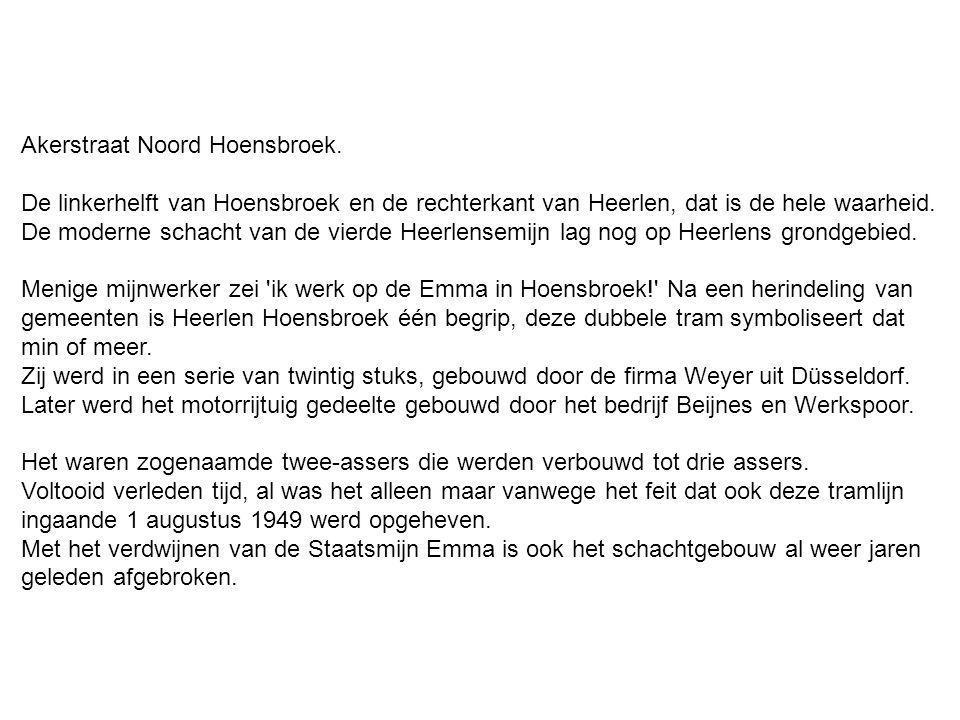 Akerstraat Noord Hoensbroek