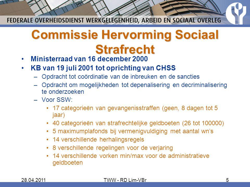 Commissie Hervorming Sociaal Strafrecht