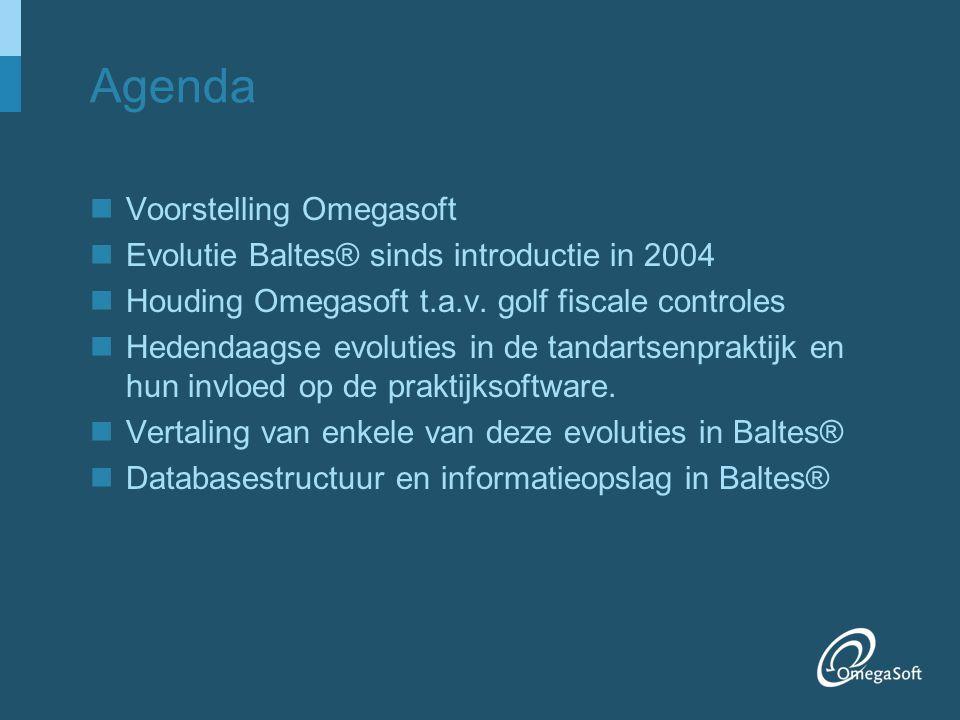 Agenda Voorstelling Omegasoft