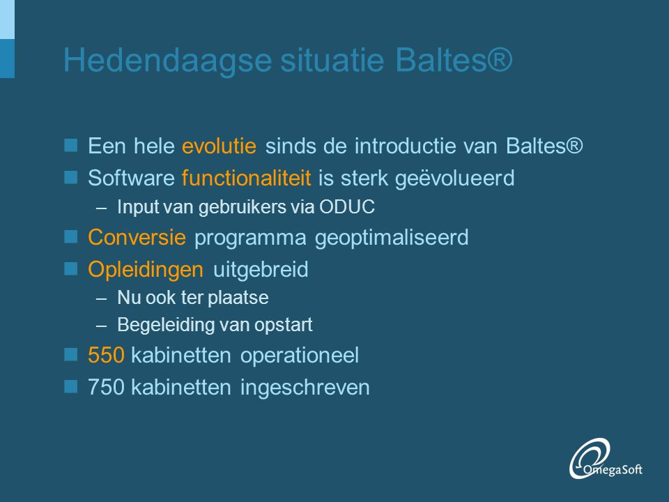 Hedendaagse situatie Baltes®