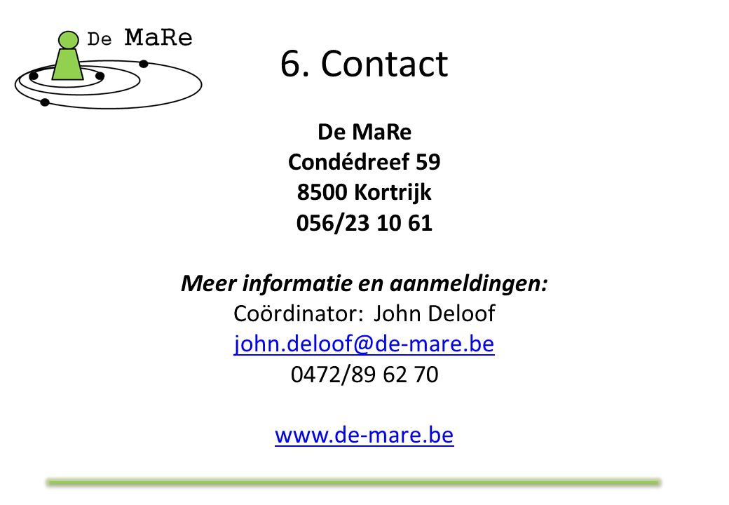 6. Contact