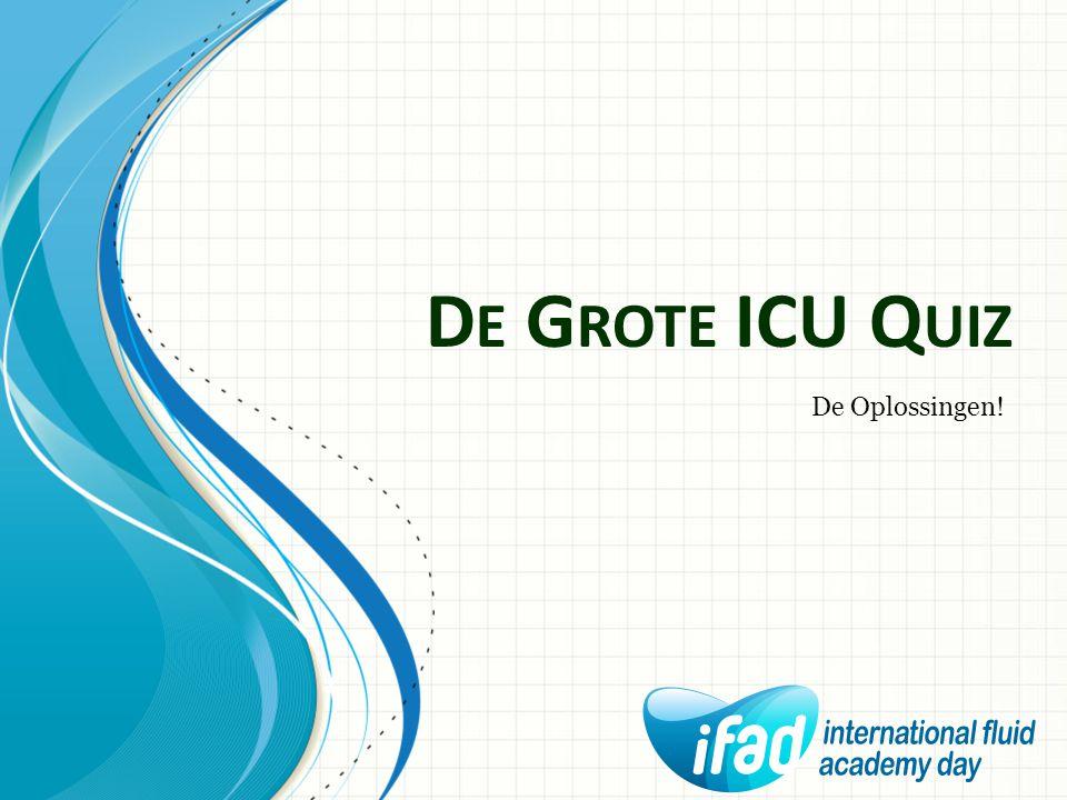 De Grote ICU Quiz De Oplossingen!