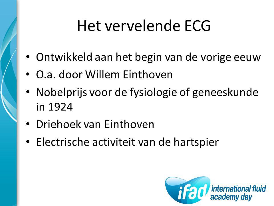 Het vervelende ECG Ontwikkeld aan het begin van de vorige eeuw
