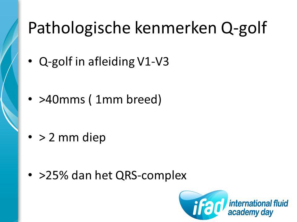Pathologische kenmerken Q-golf
