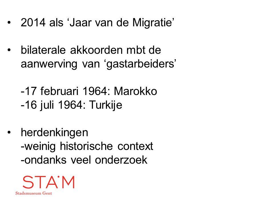 2014 als 'Jaar van de Migratie'
