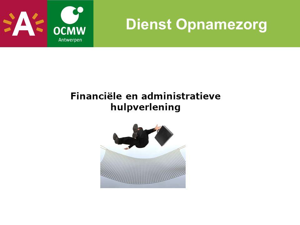 Financiële en administratieve hulpverlening