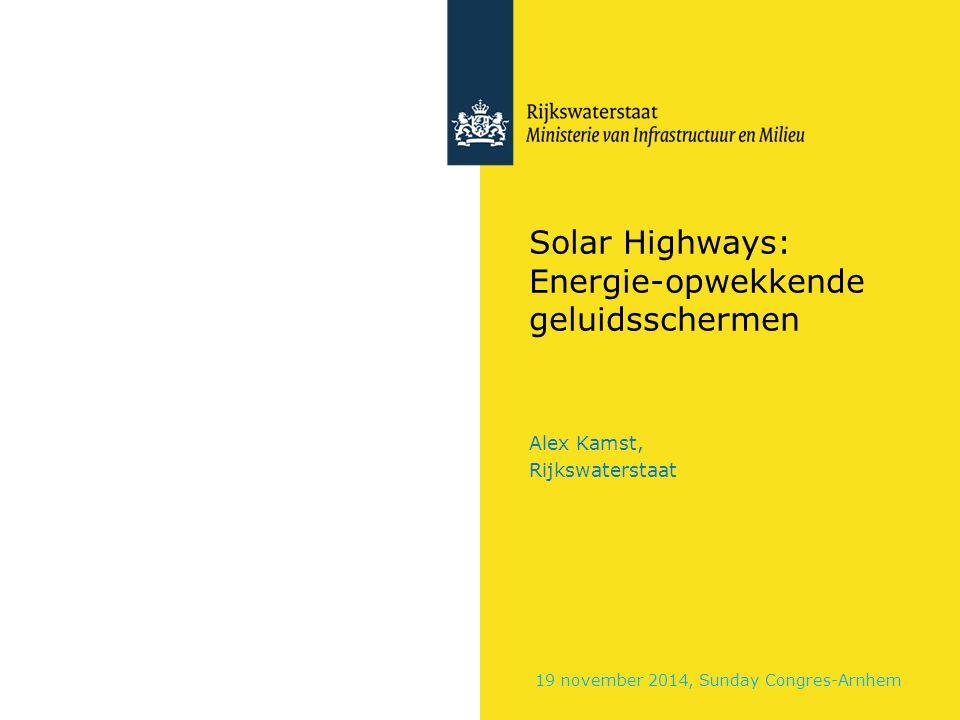 Solar Highways: Energie-opwekkende geluidsschermen