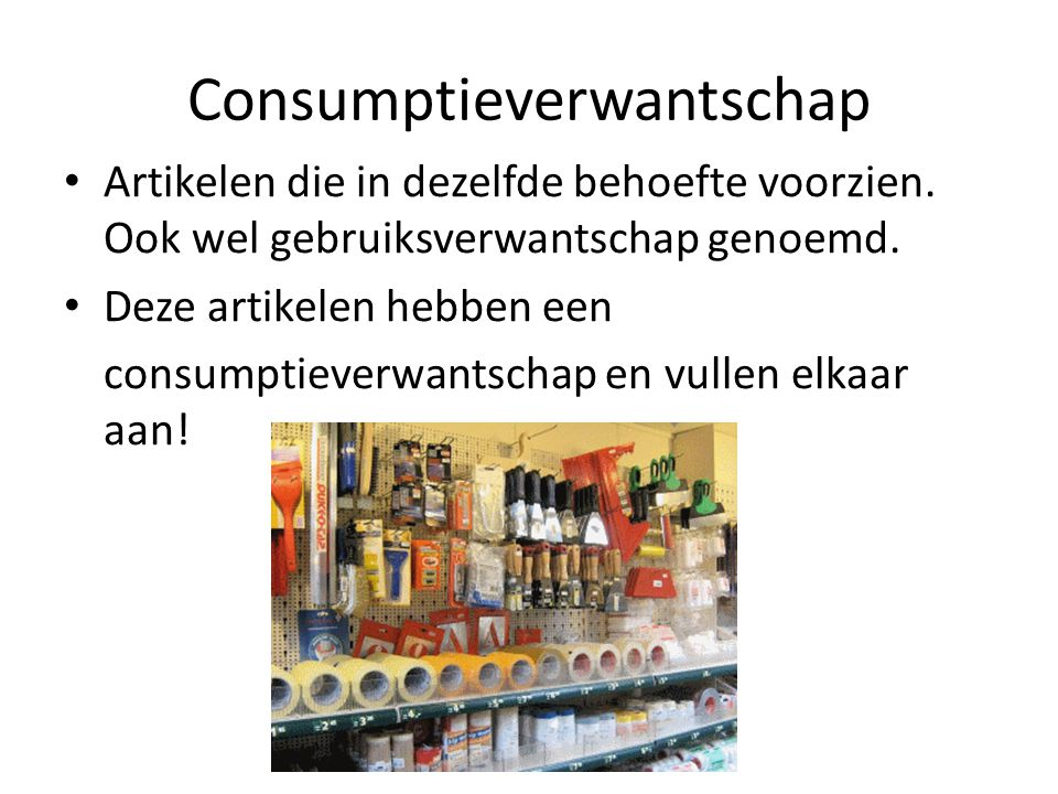 Consumptieverwantschap