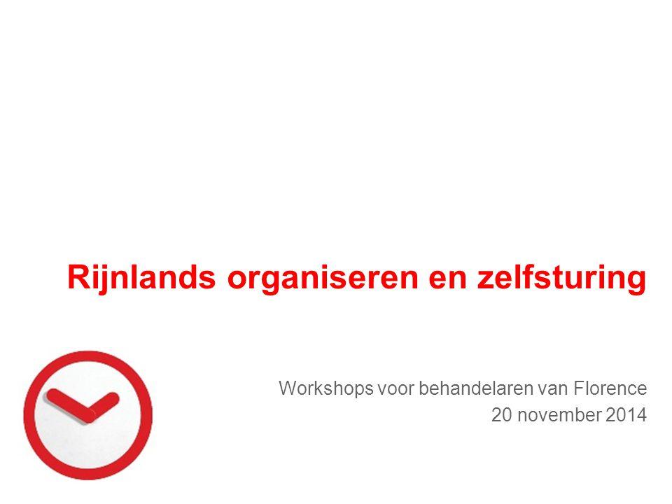Rijnlands organiseren en zelfsturing