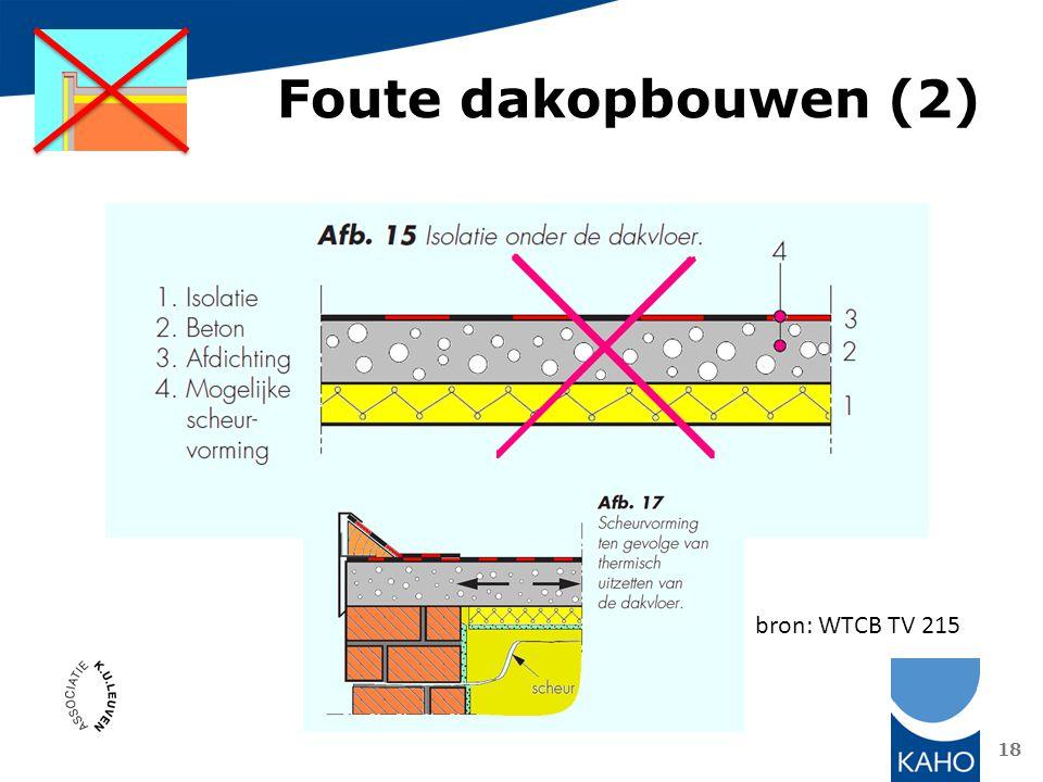 Foute dakopbouwen (2) bron: WTCB TV 215