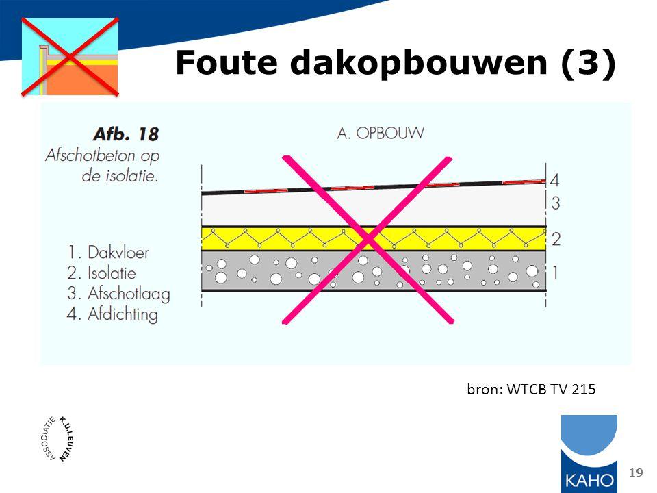Foute dakopbouwen (3) bron: WTCB TV 215