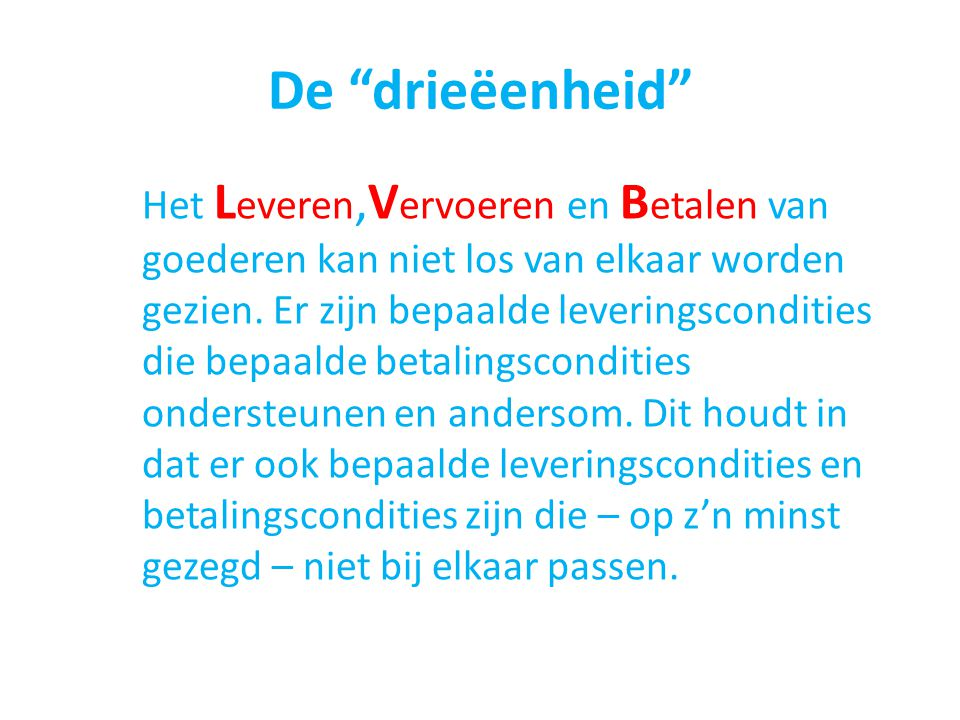 De drieëenheid
