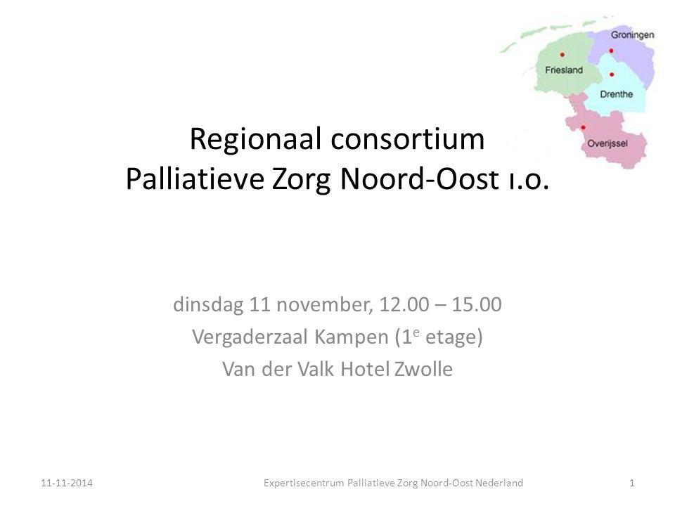 Regionaal consortium Palliatieve Zorg Noord-Oost i.o.
