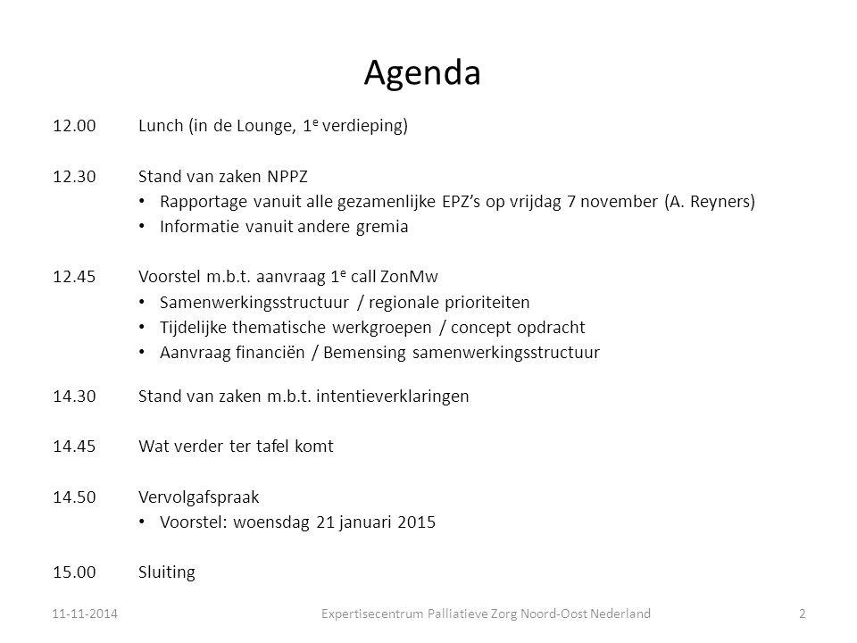 Expertisecentrum Palliatieve Zorg Noord-Oost Nederland