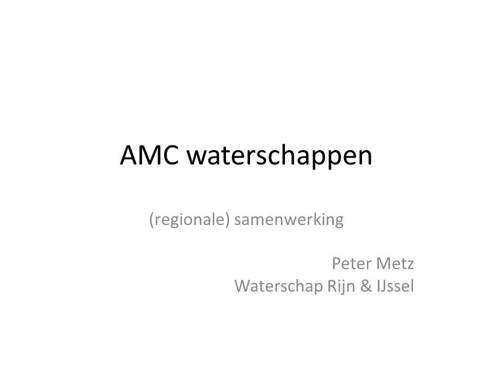 (regionale) samenwerking Peter Metz Waterschap Rijn & IJssel