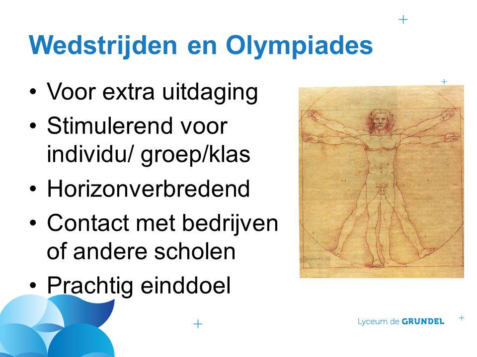 Wedstrijden en Olympiades