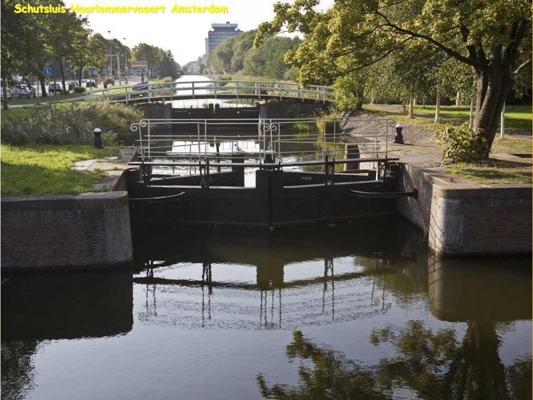 Schutsluis Haarlemmervaaart Amsterdam