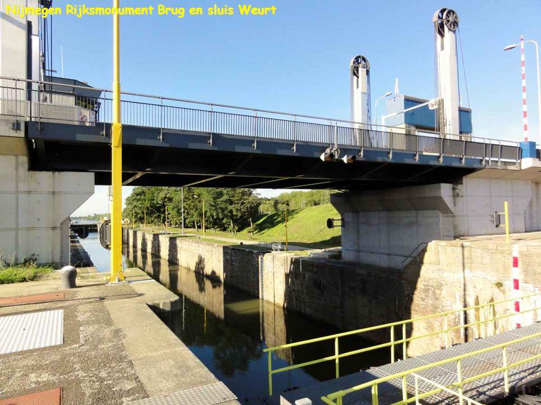 Nijmegen Rijksmonument Brug en sluis Weurt