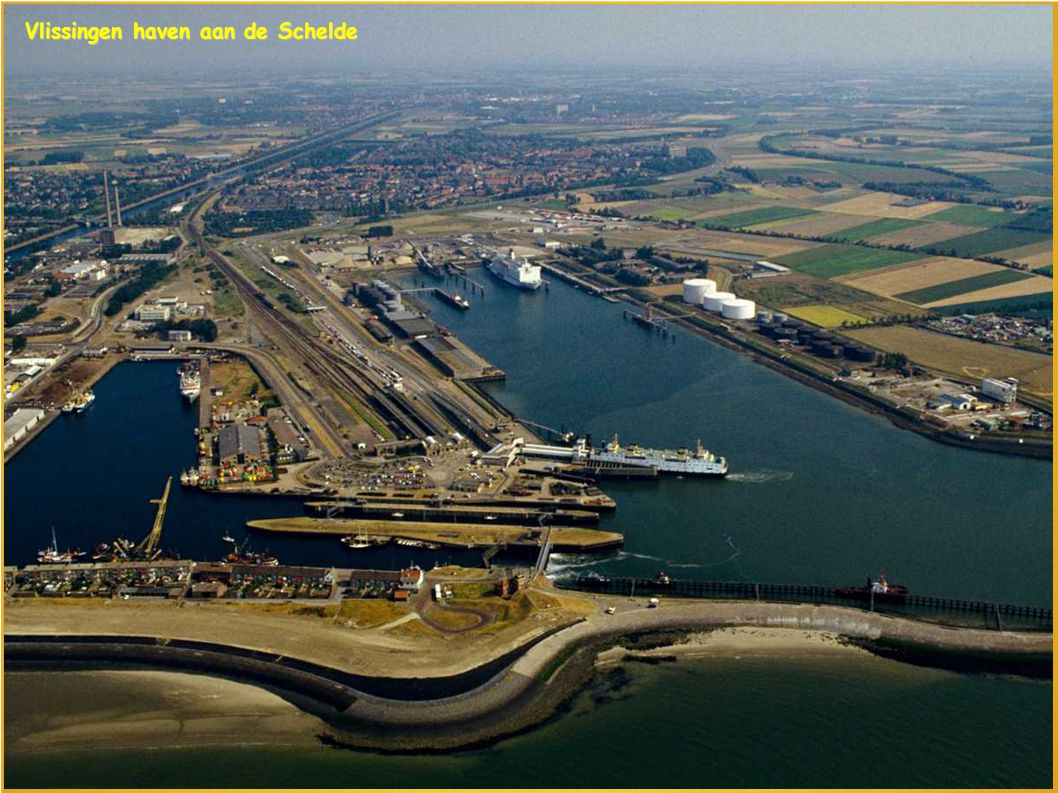 Vlissingen haven aan de Schelde