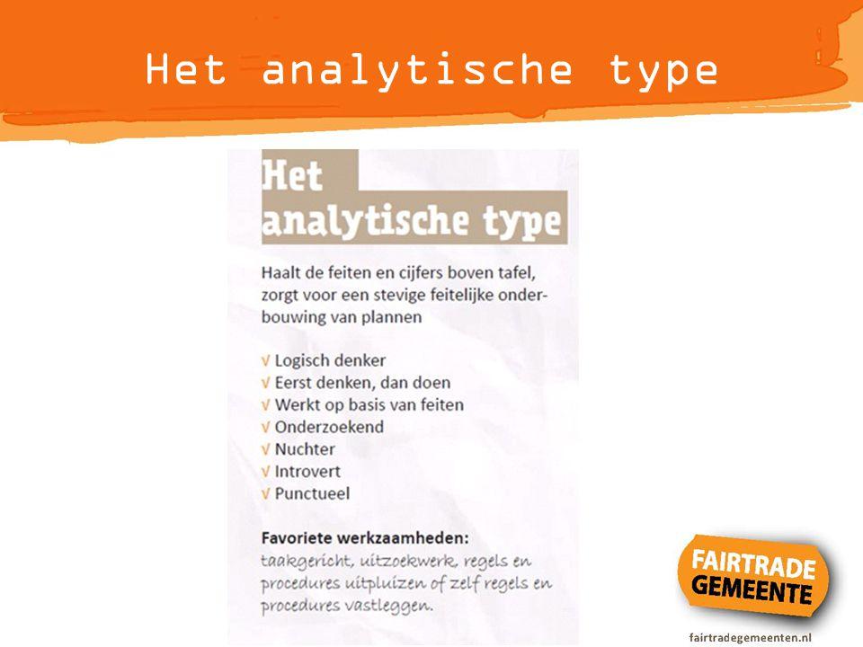 Het analytische type