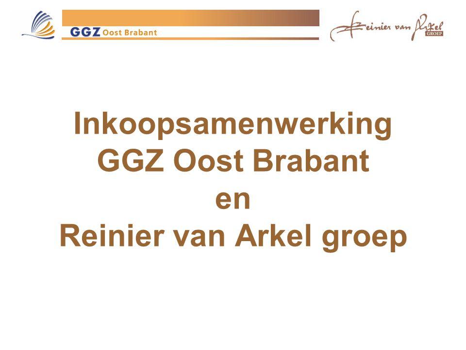 Inkoopsamenwerking GGZ Oost Brabant en Reinier van Arkel groep