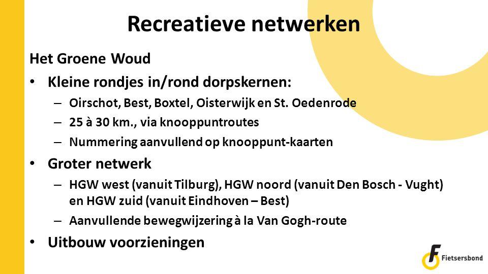 Recreatieve netwerken
