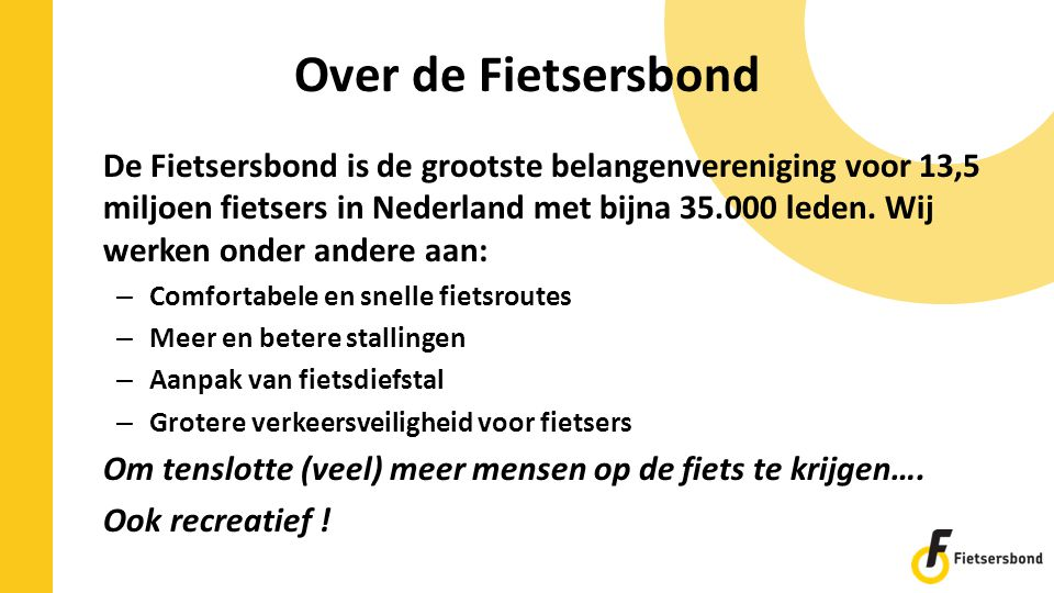 Over de Fietsersbond