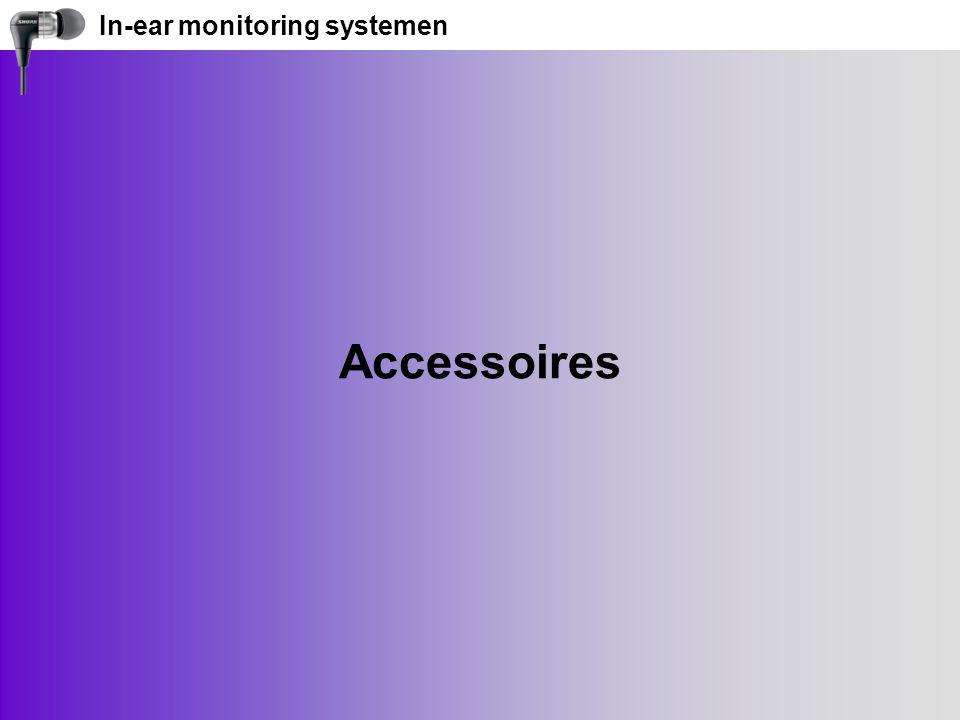 In-ear monitoring systemen